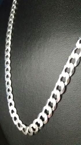 Corrente Italiana Grumet Prata 925 60 Cm 7,8 Mm 33 Gramas