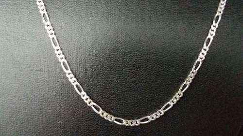 Corrente Prata 925 Maciça Elos 3 X 1 70 Cm 3 Mm 11,7 Gramas