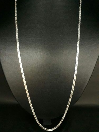 Corrente Piastrine Prata 925 Lacre De Latinha 70cm 3mm
