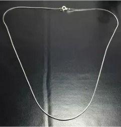 Colar Prata 925 - Rabo De Rato Oitavada - 70 Cm - 3,4 Gramas