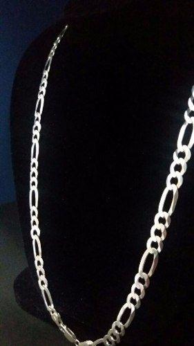 Cordão Corrente Prata 925 Maciça Elos 3x1 80cm