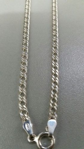 Corrente Masculina Prata Maciça 925 70 Cm X 3 Mm Elo Duplo