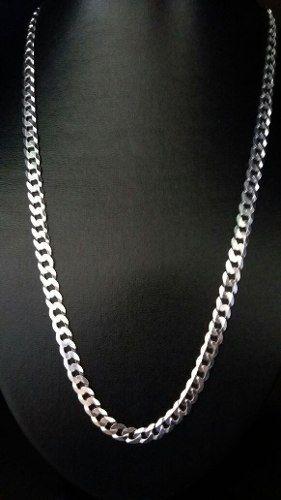 Corrente Prata Maciça 925 60 Cm 6,6 Mm 27 Gramas