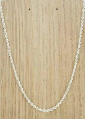 Corrente Cordão Baiano 60 Cm 3,2 Mm + Pulseira Prata 925