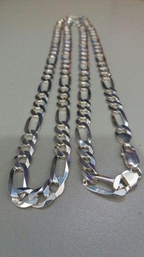 Cordão Corrente Prata 925 Maciça Grumet Elos 3x1 90cm