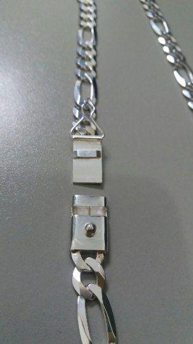 Corrente Grumet - Prata 925 - 70cm - 61 Gramas/ Fecho Gaveta