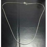 Colar Prata 925 - Rabo De Rato Oitavada - 60 Cm - 5,4 Gramas