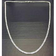 Corrente Grumet- Prata 925 - 80 Cm 4 Mm - 16 Gramas