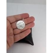 Medalha Pingente São Bento Dupla Face Prata 925