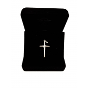 Pingente Crucifixo Prata 925 Maciça 2,2 Gramas 3,5 Cm