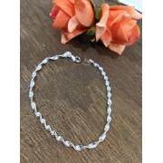 Pulseira Espiral em prata 925