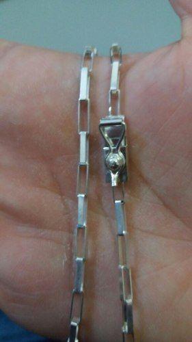 Corrente Cartier Em Prata 925 60 Cm 13 Gramas Fecho Gaveta
