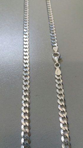 Corrente Italiana Grumet Prata 925 60 Cm 5 Mm 12,5 Gramas