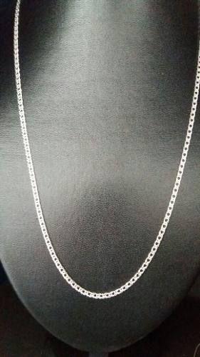 Corrente Prata Maciça 925 60 Cm X 3 Mm 7 Gramas