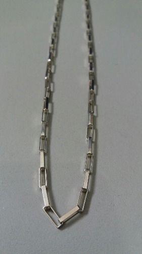 Corrente Cartier Grosso 60 Cm 3 Mm 11,9 Gramas Em Prata 925