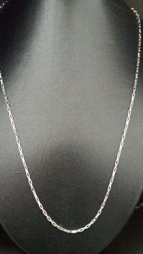 Corrente Cartier Em Prata 925 60 Cm 1,8 Mm 4,6 Gramas