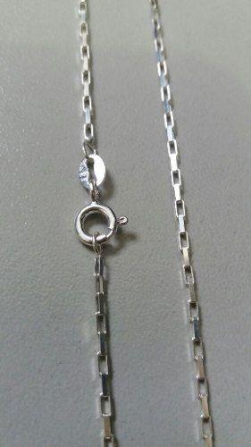 Cordão Corrente Cartier Em Prata 925 60 Cm 1,3 Mm 2,8 Gramas