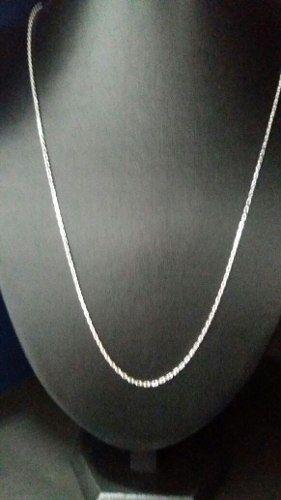 Cordão Prata 925 Estilo Corrente Fino 70 Cm 2 Mm 6,1 Gramas