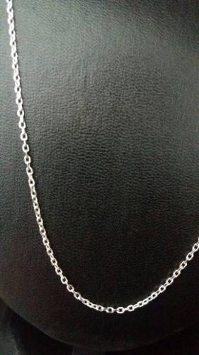 Cordão Prata 925 Estilo Corrente Fino 70 Cm 2 Mm 4,4 Gramas