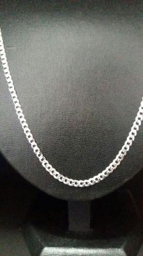 Corrente Grumet Fina Em Prata 925 Maciça 70 Cm 3,3 Mm 9 Gr.