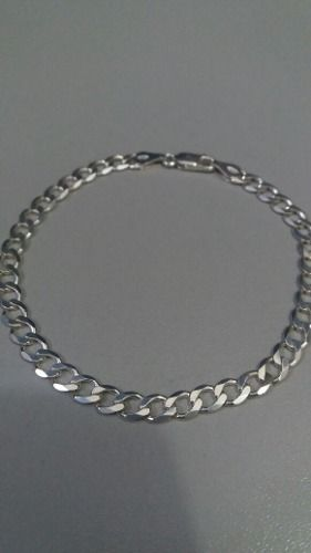Pulseira Masculina Grumet Prata 925 20,5 Cm 5 Mm 6 Gramas