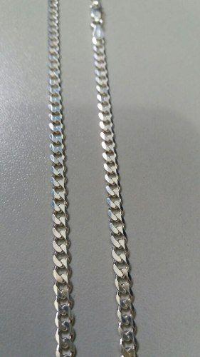Corrente Grumet Em Prata 925 Maciça 60 Cm 3,8 Mm 13,6 Gramas
