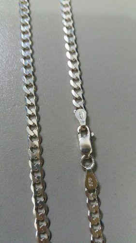 Corrente Grumet Em Prata 925 Maciça 60 Cm 3,8 Mm 10,4 Gramas
