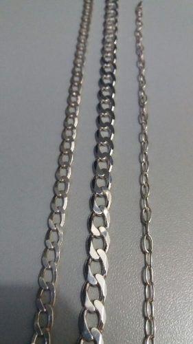 Conjunto Com 3 Pulseiras Masculinas Grumet Em Prata 925