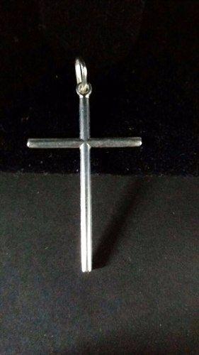 Lindo Pingente Modelo Cruz Prata 925 Maciça 2,5 Gramas