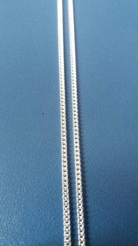 Corrente Italiana Grumet Prata 925 50 Cm 1,3 Mm 2,6 Gramas