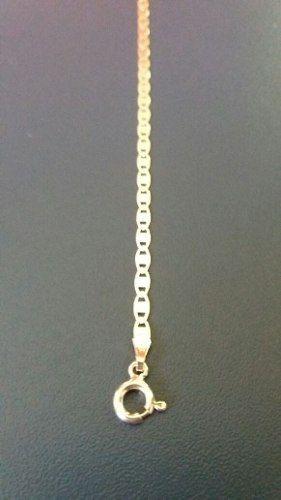 Pulseira Piastrine Em Prata 925 Maciça 19 Cm 3 Mm 1,7 Gramas