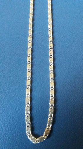 Colar Fino Em Prata 925 Maciça Estilo Caracol 45 Cm 1,5 Mm