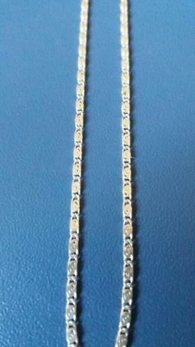 Colar Fino Em Prata 925 Maciça Estilo Caracol 50 Cm 1,5 Mm