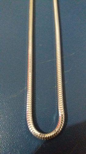 Colar Prata 925 - Rabo De Rato Oitavada - 60cm - 11,8 Gramas