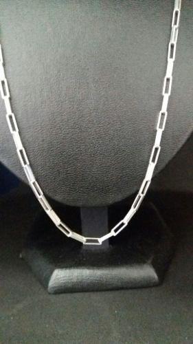 Corrente Cartier Em Prata 925 70 Cm 2,8 Mm 11 Gr. Fecho Gav
