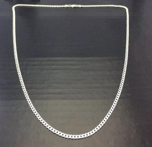 Corrente Grumet- Prata 925 - 80cm - 13 Gramas