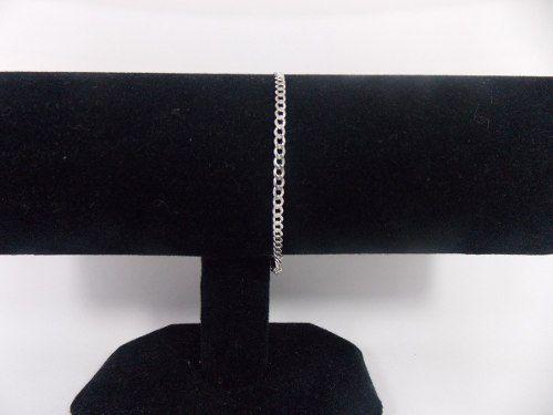 Corrente Italiana Grumet Prata 925 Com 60cm X 3mm + Pulseira