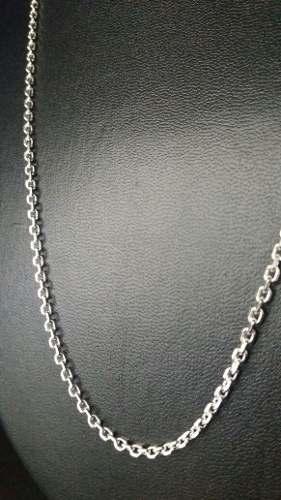 Cordão Prata 925 Maciça Estilo Corrente 60 Cm 2,7 Mm 10,5 Gr