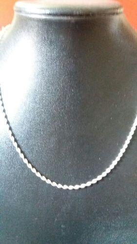 Colar Laminado Torcido 45 Cm 2,4 Mm 4,5 Gramas Prata 925