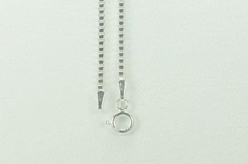 Cordão Corrente Masculina Veneziana 70cm Em Prata 925