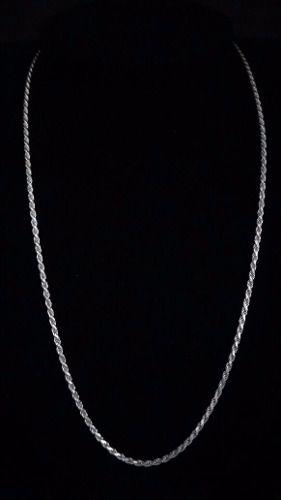 Corrente Cordão Baiano Prata Maciça 925 70cm 2,2 Mm 12,7 Gr