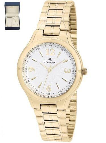 Relógio Champion Feminino Ref: Cn20499w + Kit Cn20499w