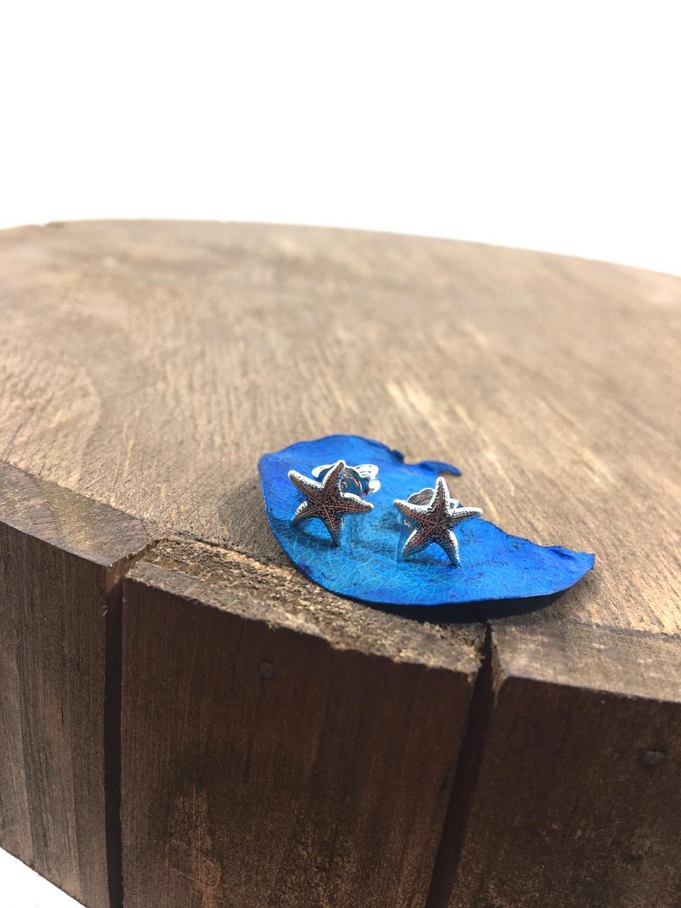 Brinco Estrela do Mar prata 925