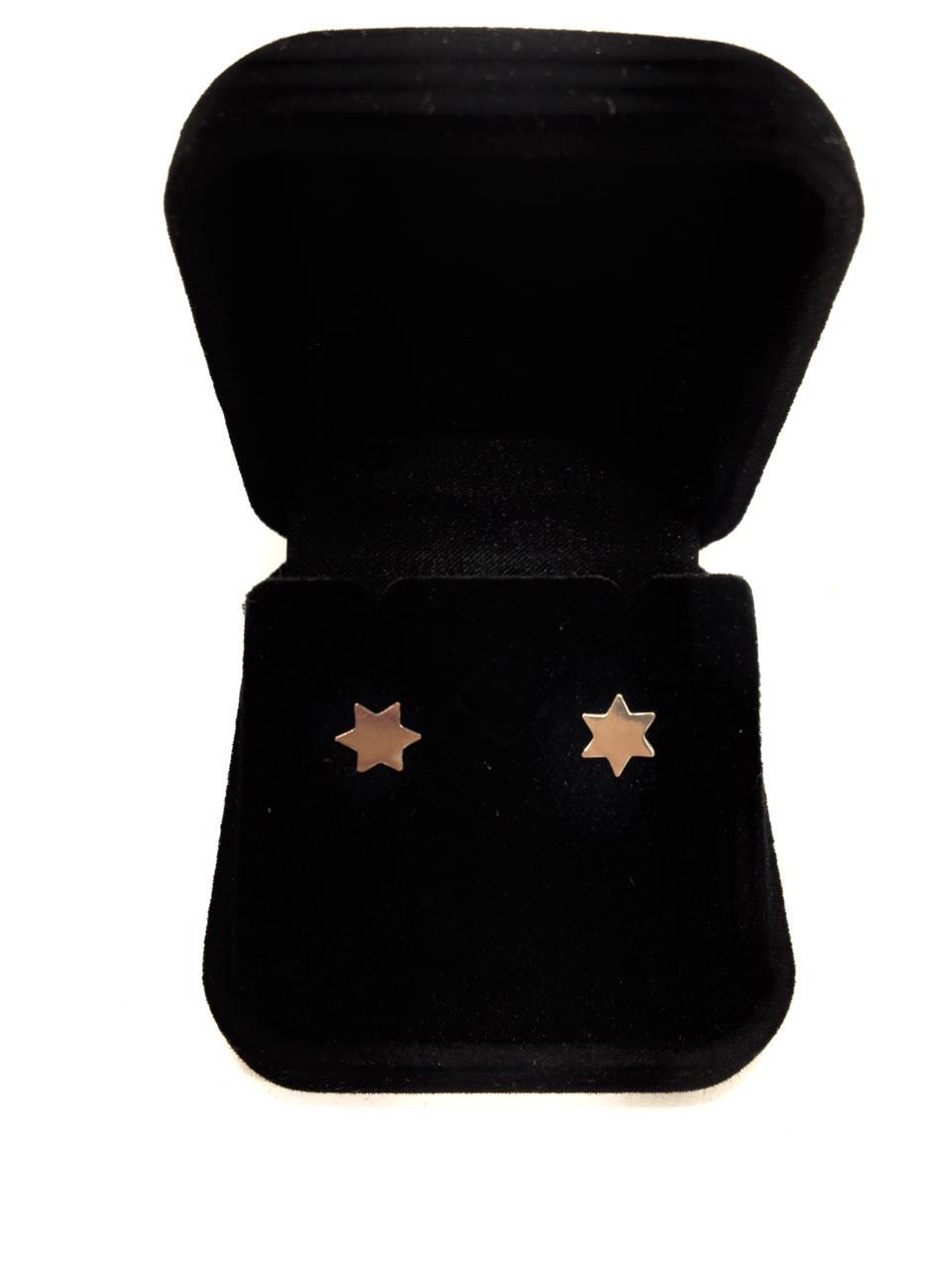 Brinco Estrela prata 925