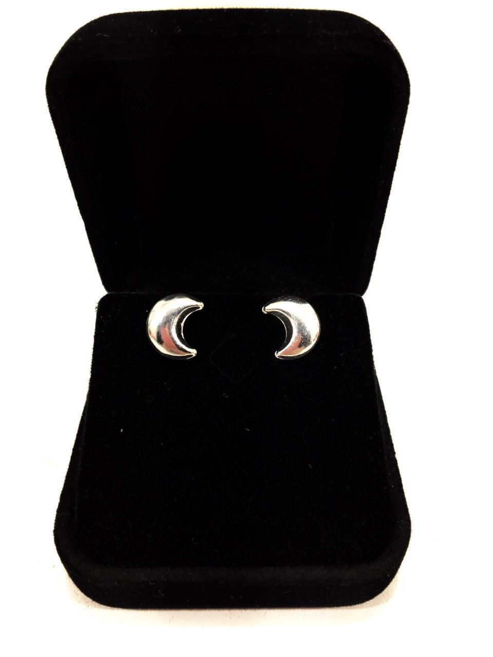 Brinco Lua prata 925