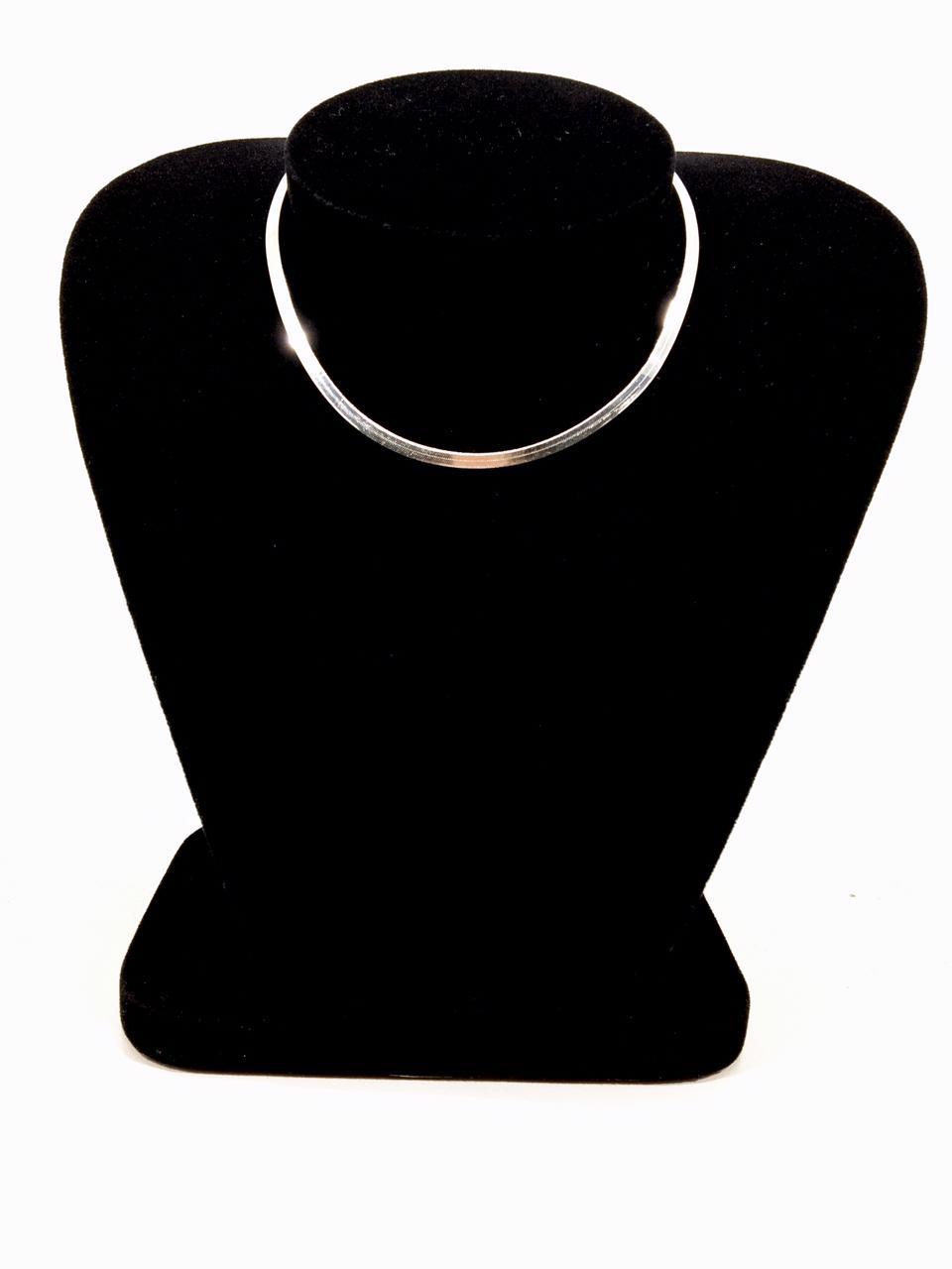 Colar Feminino - Prata 925 - Laminado Liso - 40 Cm - 3 Mm