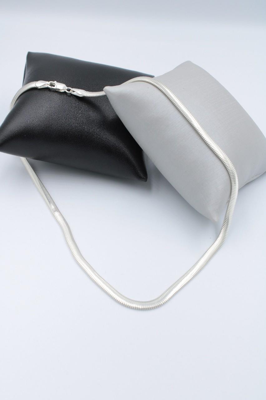 Colar - Prata 925 - Tipo Lacraia - 40 Cm - 12,4 Gramas