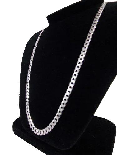 Corrente Grumet- Prata 925 - 70cm - 30 Gramas