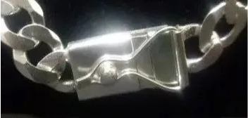 Corrente Italiana Grumet Prata 925 80cm 7mm C/ Fecho Gaveta