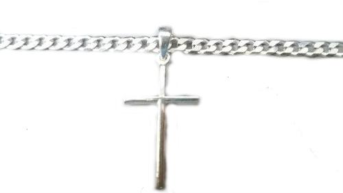 Lindo Pingente Cruz Em Prata 925 Maciça 2,1 Gramas